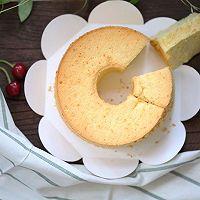 无水鲜奶油橙皮屑戚风蛋糕——感恩节特别制作。