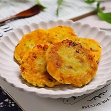 #憋在家里吃什么#不炒不炖,鲜美营养的香煎藕饼
