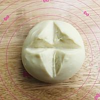 咸蛋黄肉松吐司的做法图解2