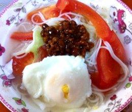 早餐面的做法