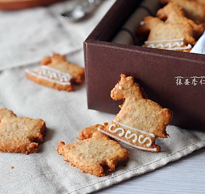 小木马全麦饼干