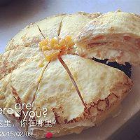 榴莲芒果千层蛋糕的做法图解3
