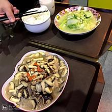 鲜香菇肉片