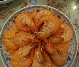 水煮厄尔多斯大白虾的做法