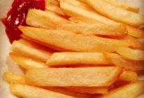 炸薯条(崽崽版)的做法
