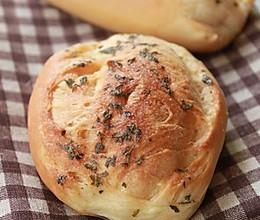 欧芹鲜奶面包的做法