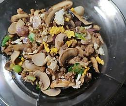 烧双菇的做法