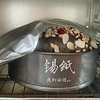 超豪华芝士坚果黑面包的做法图解14