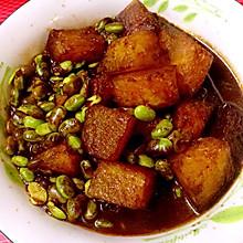 毛豆炒冬瓜