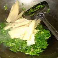 上海年夜饭必备荠菜笋片的做法图解5