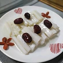 芦荟蜂蜜山药拼盘
