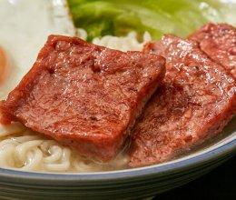 【午餐肉】自己做午餐肉,怎么吃都很安心!的做法