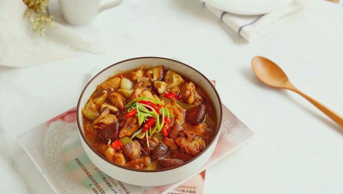 香菇滑鸡,让你远离油烟的美味蒸菜