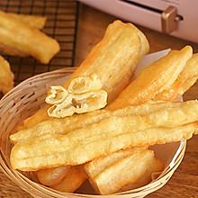 自制金黄酥脆的油条,健康又美味~