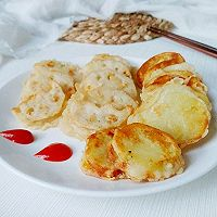 土豆夹藕藕夹肉