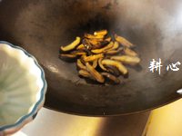 香菇丝炒鸡腿肉的做法图解9