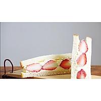 草莓奶油三明治的做法图解4