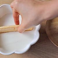 【视频】大理石纹 免烤黑芝麻慕斯蛋糕的做法图解4