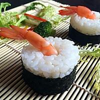 虾仁饭团#丘比沙拉汁#