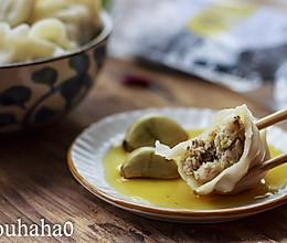 椎茸包菜饺子的做法