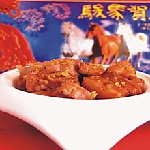 桂花酱汁肉