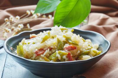 扁豆焖饭#苏泊尔电饭煲#