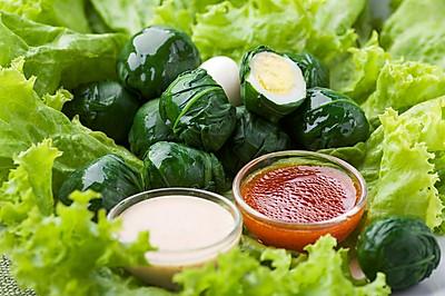 丘比沙拉汁-绿蔬弹丸