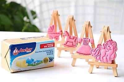 #安佳儿童创意料理# 果蔬饼干之--粉嫩火龙果饼干