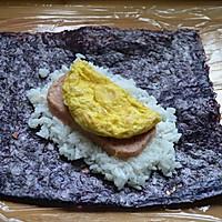 #365谷下单现磨大米#早餐营养元气饭团的做法图解13