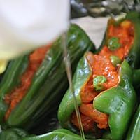 奥尔良朝天椒包肉的做法流程详解5