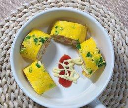 营养早餐鸡蛋卷的做法