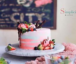 渲染奶油蛋糕的做法