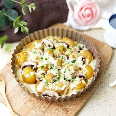 早餐芝士口蘑土豆派