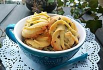 葱香曲奇饼干#樱花味道#的做法