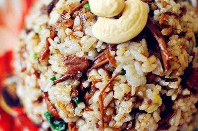 梅菜酱油炒饭