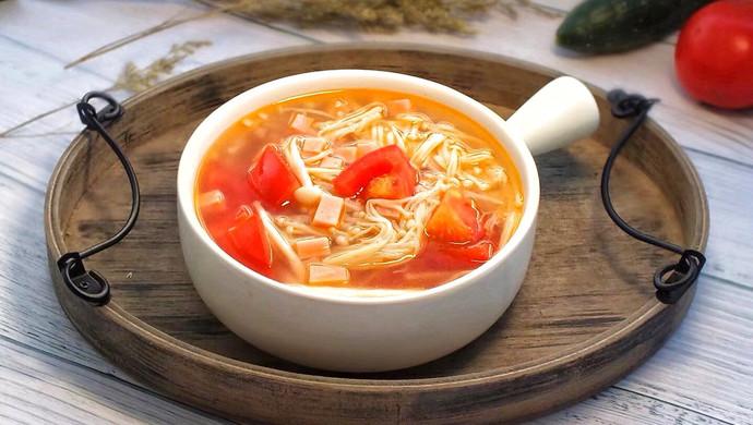 番茄菌菇汤
