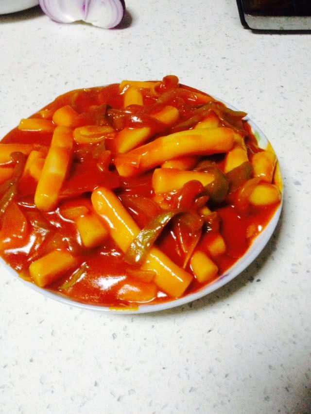 韩国辣炒年糕的做法图解9