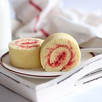 红丝绒小旋风蛋糕卷的做法图解24