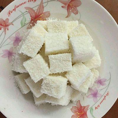 奶香椰子糕