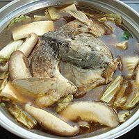 鱼头火锅——冬季暖身的做法图解10