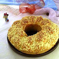 鲜奶油辫子花环面包#夏日下饭菜#