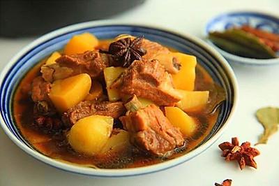 土豆焖排骨#苏泊尔鲜煮唯快#
