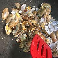 姜葱炒花甲(路飞酱的海鲜宴)的做法图解7