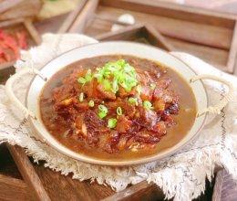 #一勺葱伴侣,成就招牌美味#五花肉炖茄子的做法