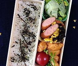茄酱虾球便当 — 小朋友的午餐日记的做法