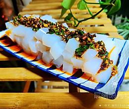 #换着花样吃早餐#Q弹凉爽的特色小吃豌豆粉的做法