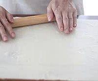 椒盐烧饼的做法图解5