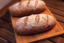 欧包 欧式核桃葡萄干面包 杂粮面包的做法