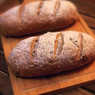 欧包 欧式核桃葡萄干面包 杂粮面包