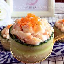 鳕鱼肠黄瓜寿司#单挑夏天#